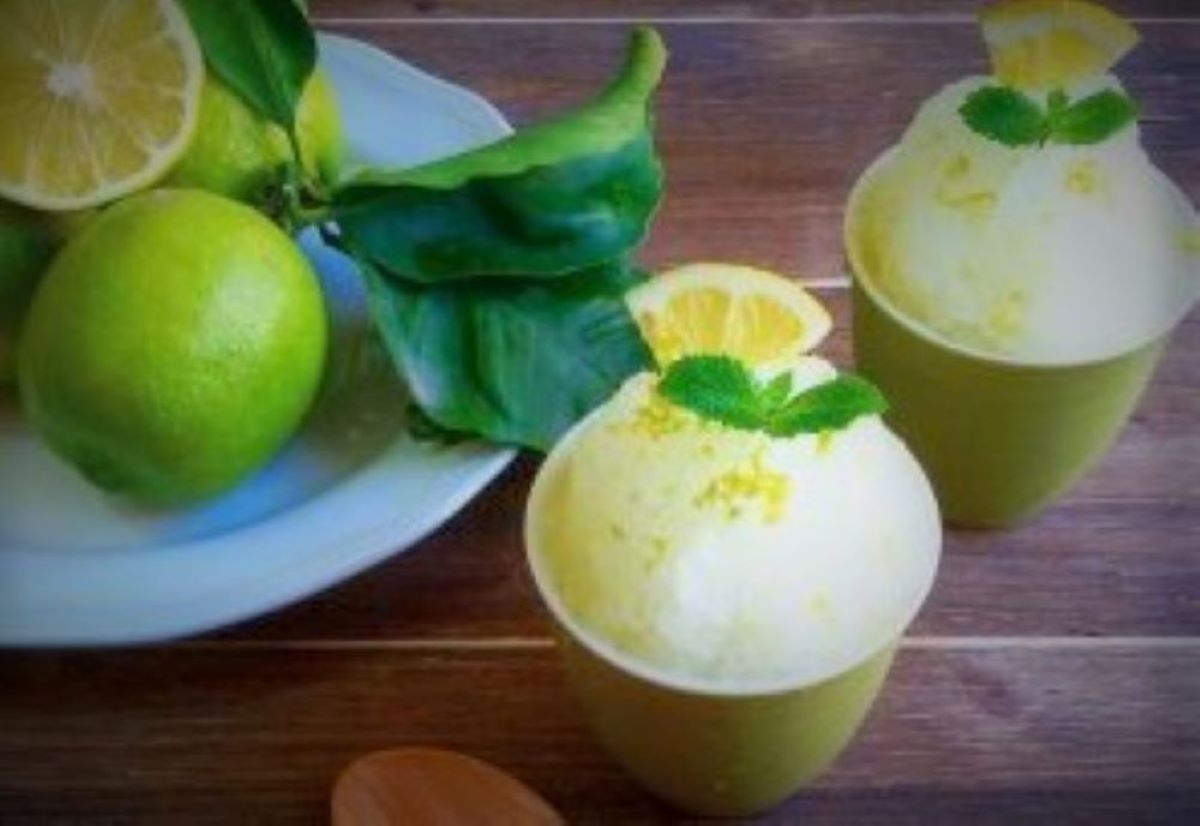 lemon granita recipe Italian