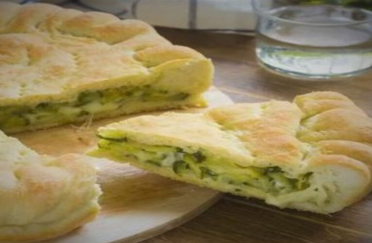 Filled Flatbread With Zucchini