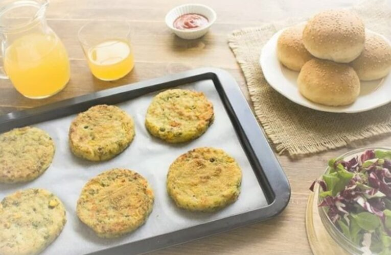 VEGETABLE HAMBURGERS 9 WITHOUT EGGS