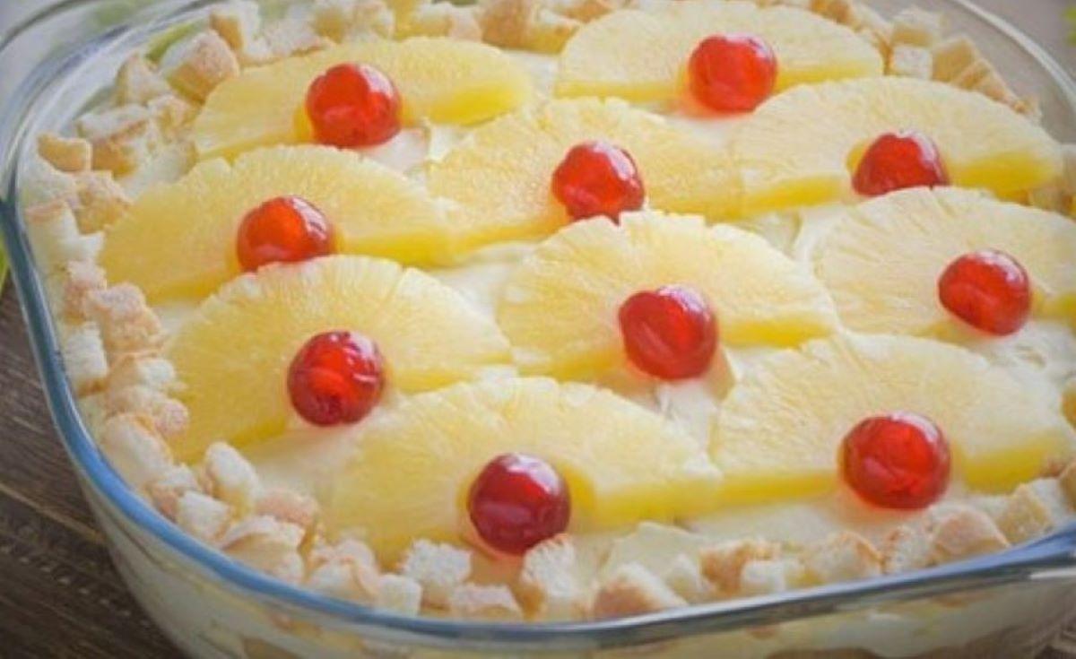 Pineapple Tiramisu