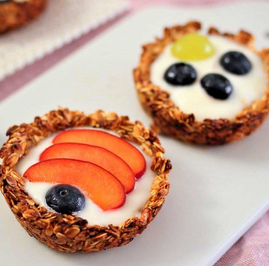 Oatmeal Yogurt Cups