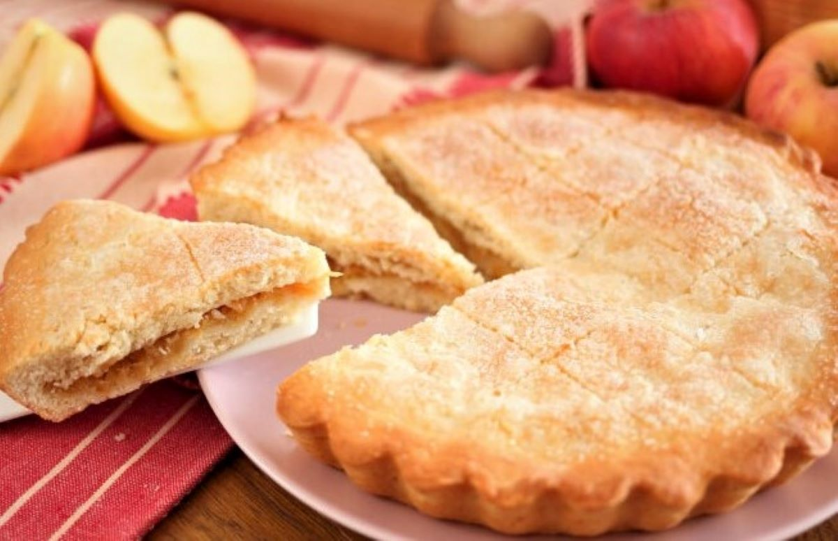 italian apple tart