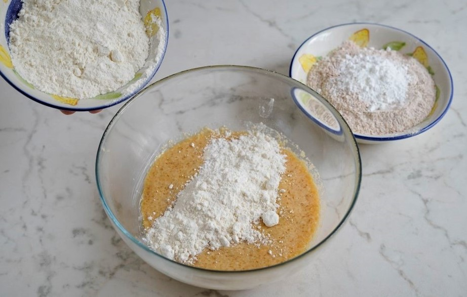 Wholemeal shortcrust pastry